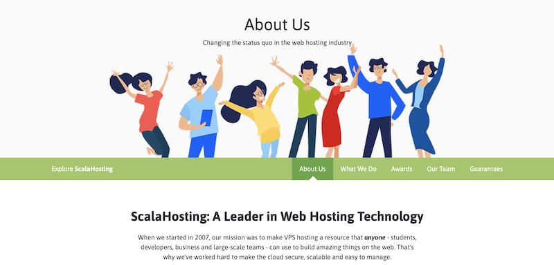 Consiga su promoción ScalaHosting