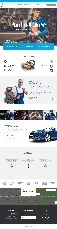 AutoCare: el mejor tema de WordPress para automóviles premium