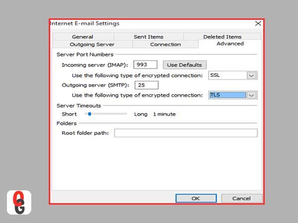 Configuración de IMAP
