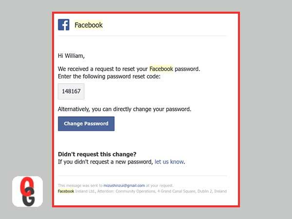Cambio Facebook Contraseña