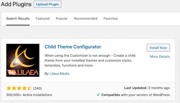 Cómo configurar un tema hijo en WordPress img 3