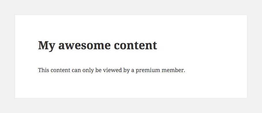 Restringir el contenido restringido de Content Pro