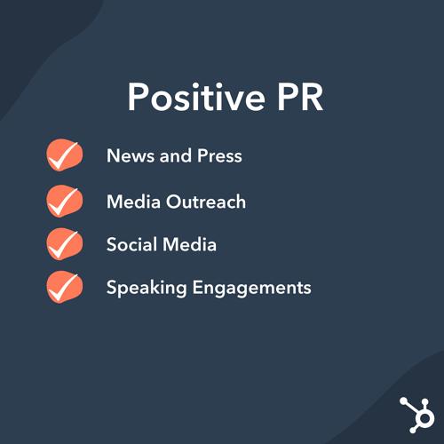 Relaciones públicas: estrategias de relaciones públicas positivas