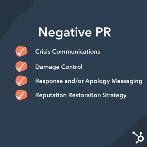Relaciones públicas: estrategias de relaciones públicas negativas