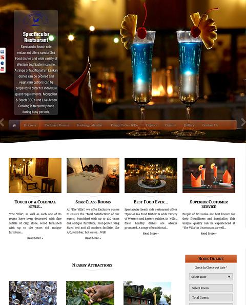 5Star, sitios web de hoteles, reservas y reservas