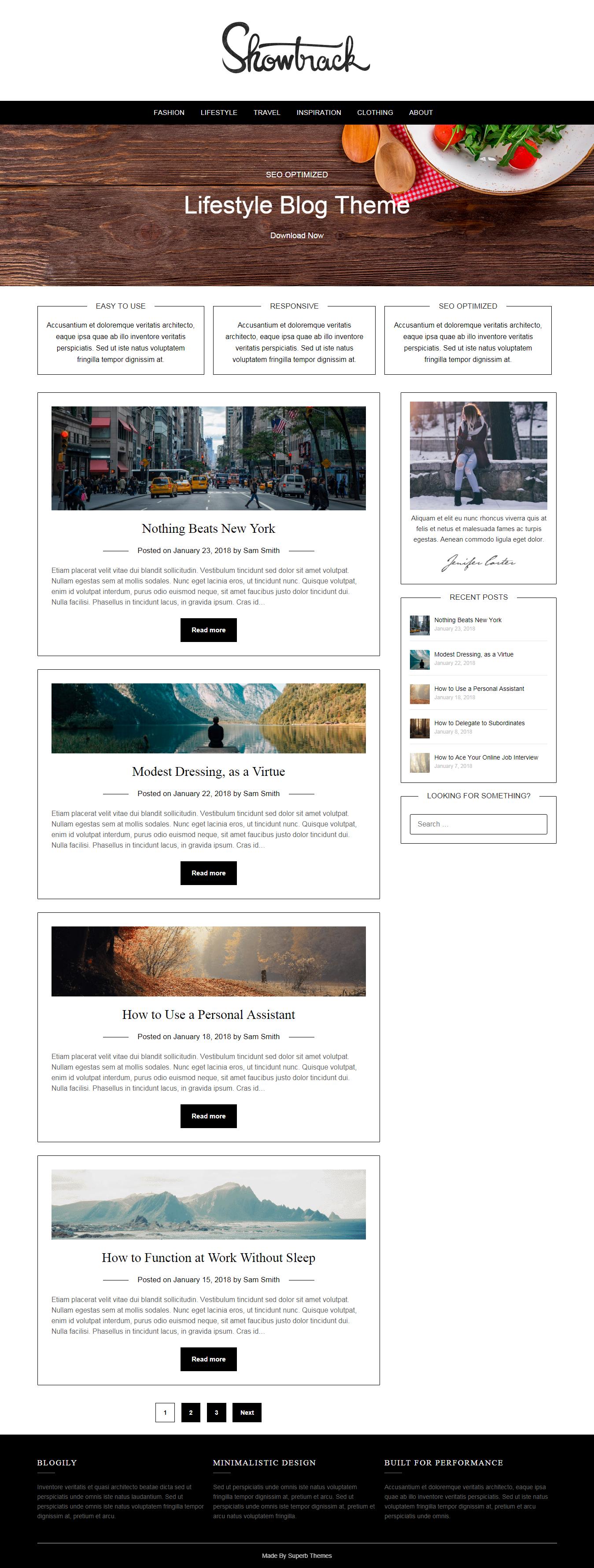 LifestylePress - El mejor tema de WordPress de estilo de vida gratuito