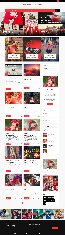 Blogs avanzados: el mejor tema de WordPress de estilo de vida gratuito