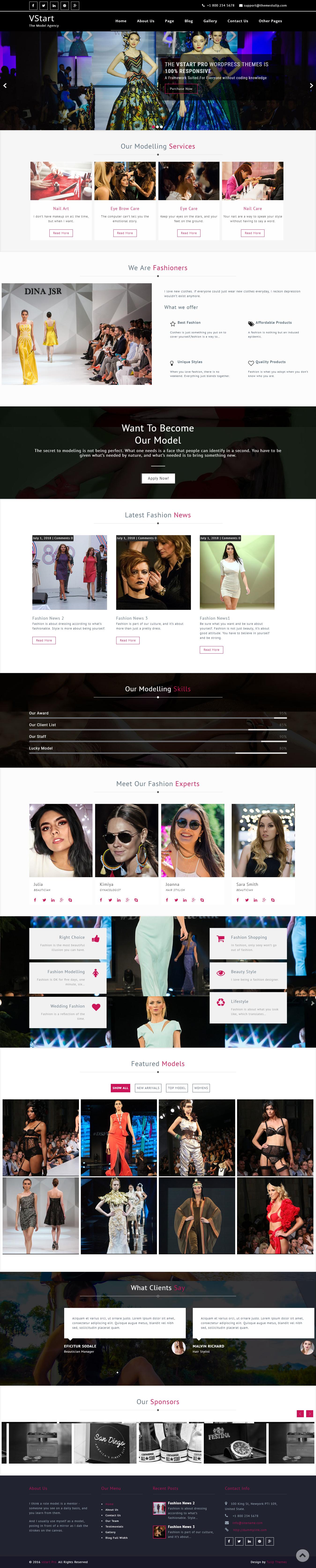 VStart - El mejor tema de WordPress de estilo de vida gratuito