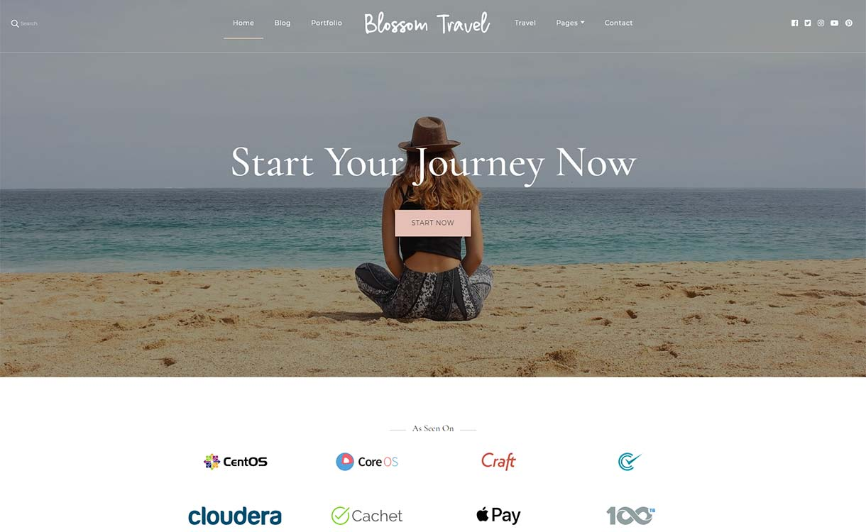 Blossom-Travel-Free-Tema de WordPress