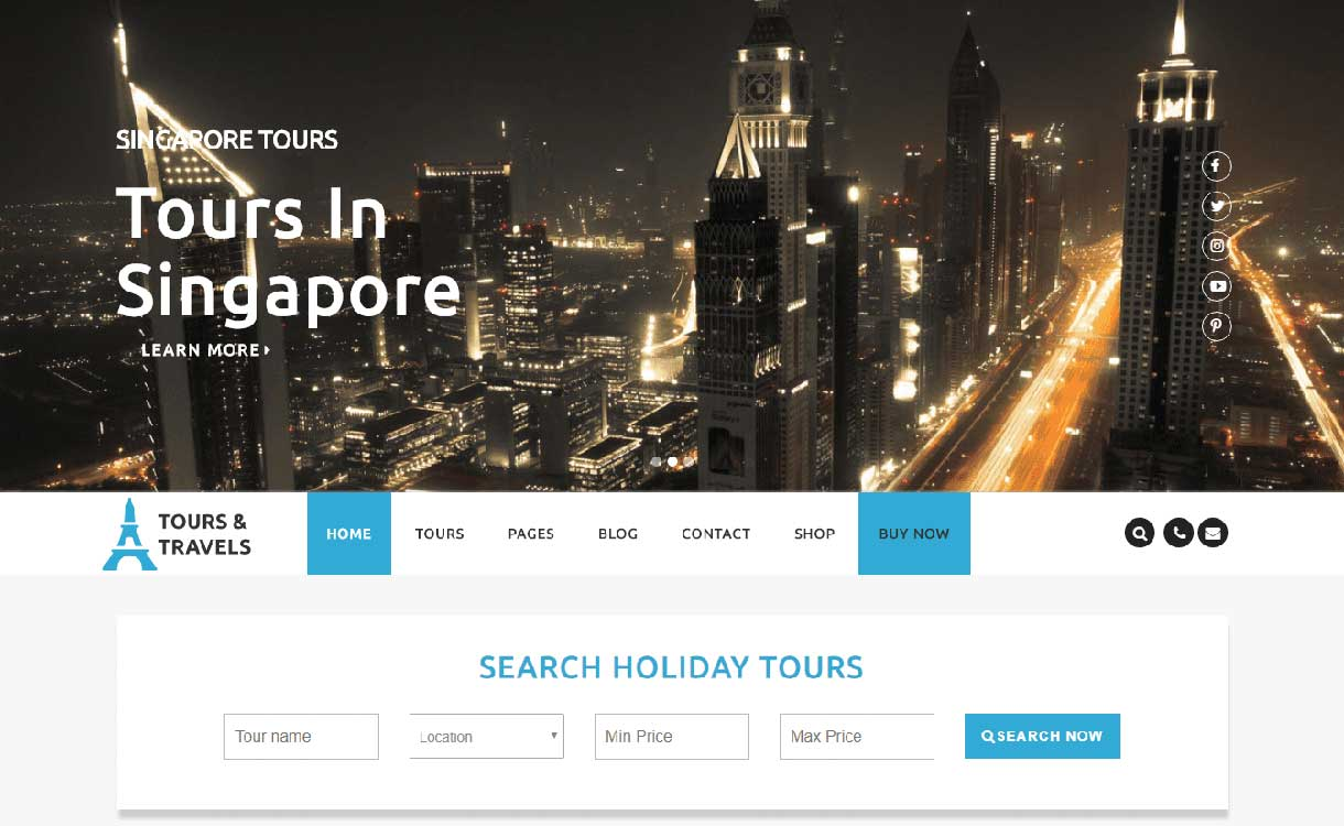 viajes de lujo mejor tema de blog de viajes de wordpress gratis