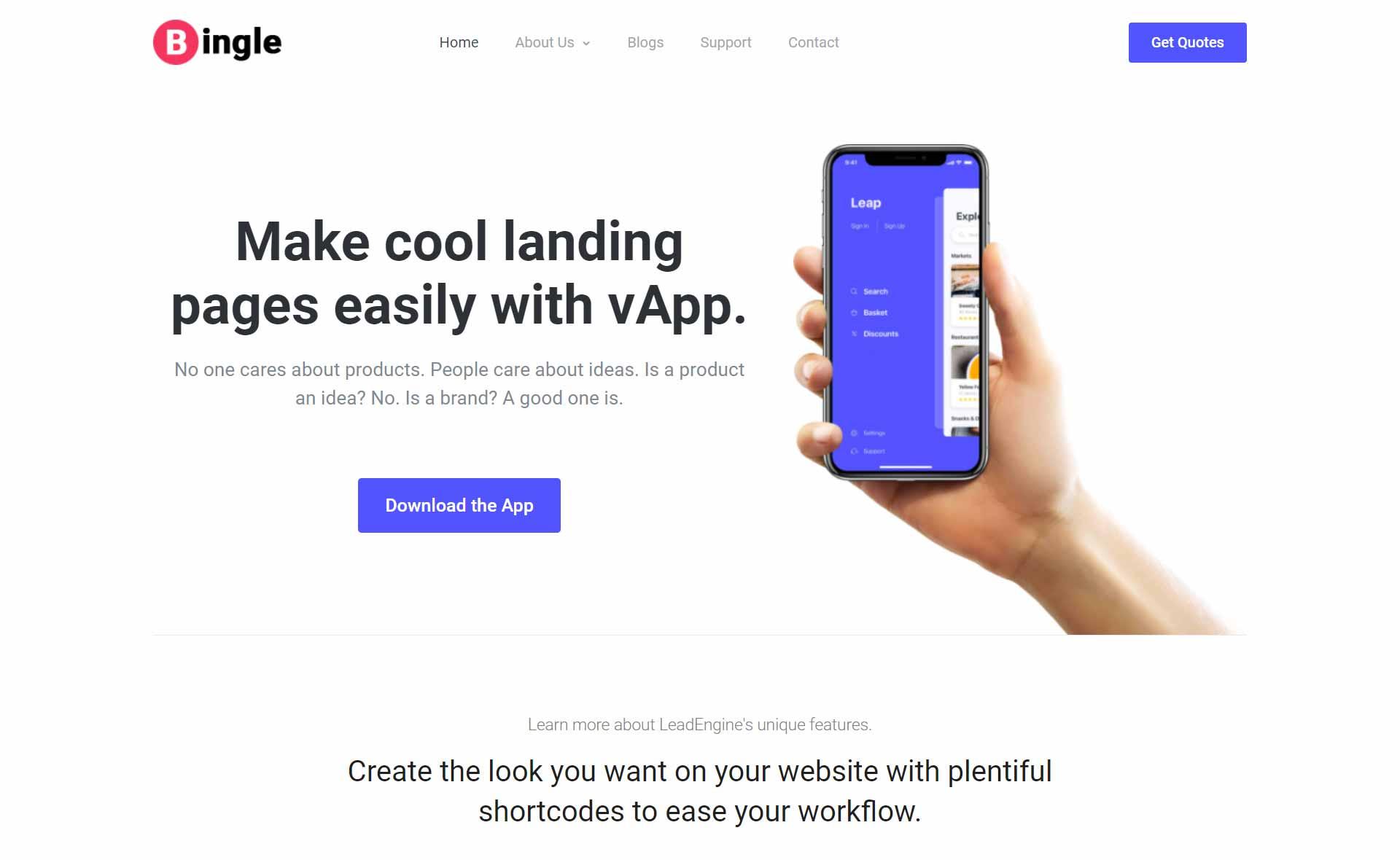 bingle-blog-free-responsive-theme