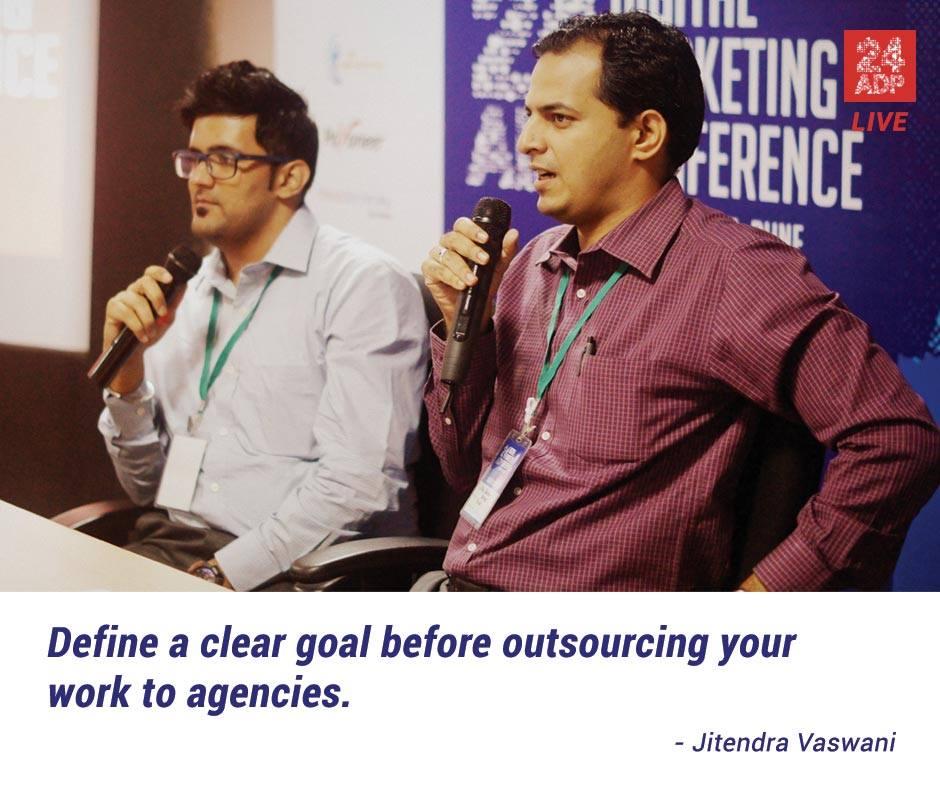 Conferencia de marketing digital Pune 24adp 2015