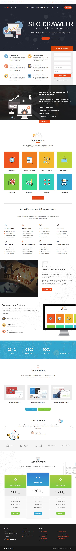 SEO Crawler: el mejor tema de WordPress para agencias de SEO premium