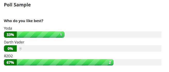 Formularios de gravedad: resultados de la encuesta
