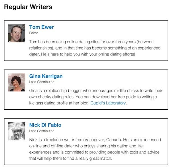 Escritores habituales