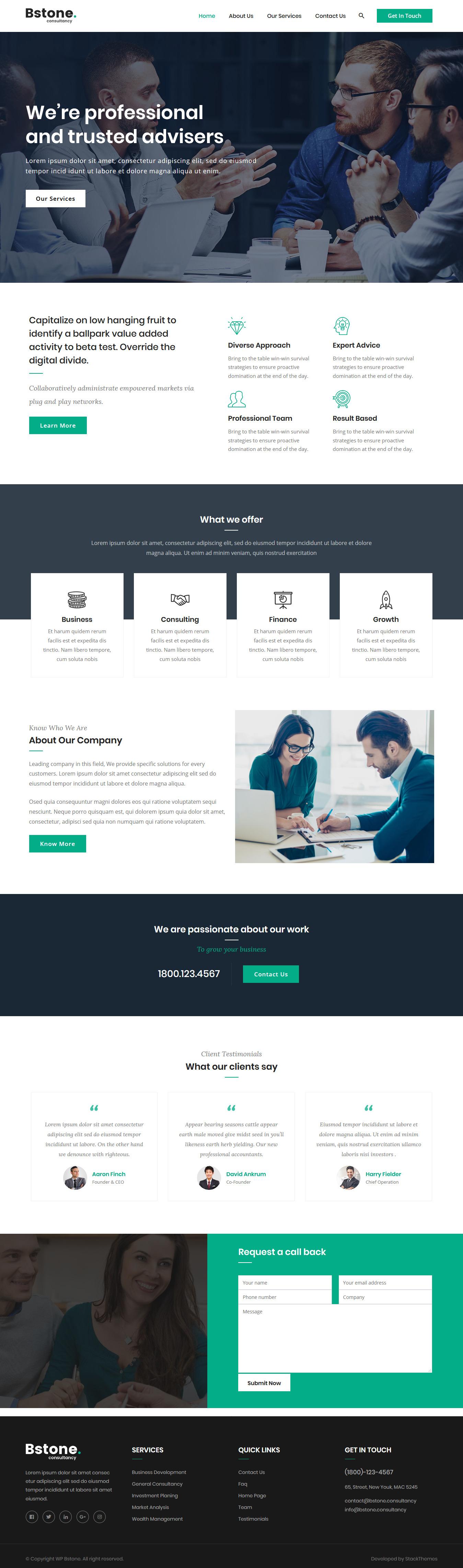 Bstone - El mejor tema gratuito de WordPress para BuddyPress