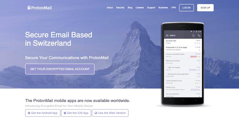 Otras opciones para los mejores proveedores de correo electrónico gratuitos y de pago para empresas