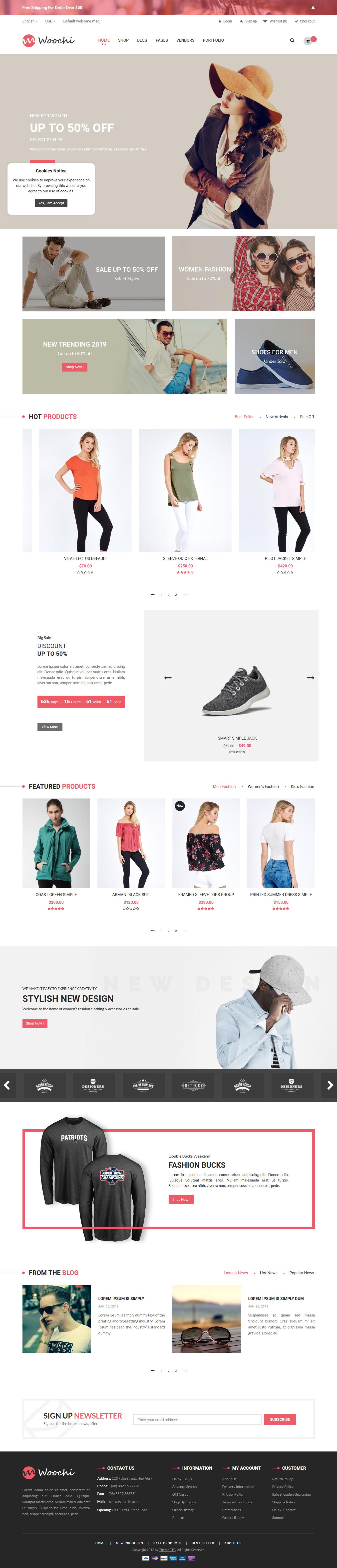 Woochi - Los mejores temas de WordPress de moda premium