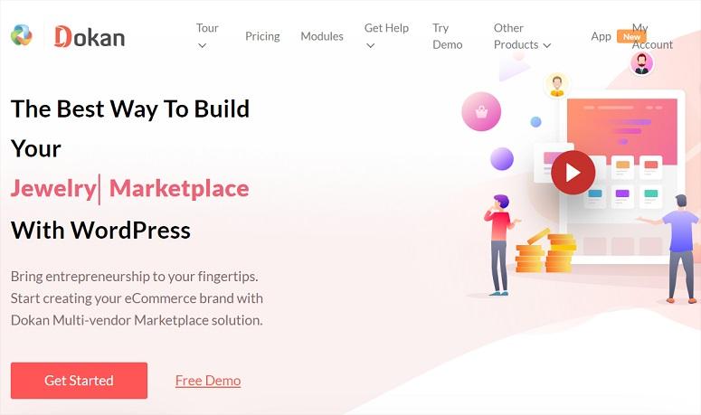 Dokan, sitio de múltiples proveedores