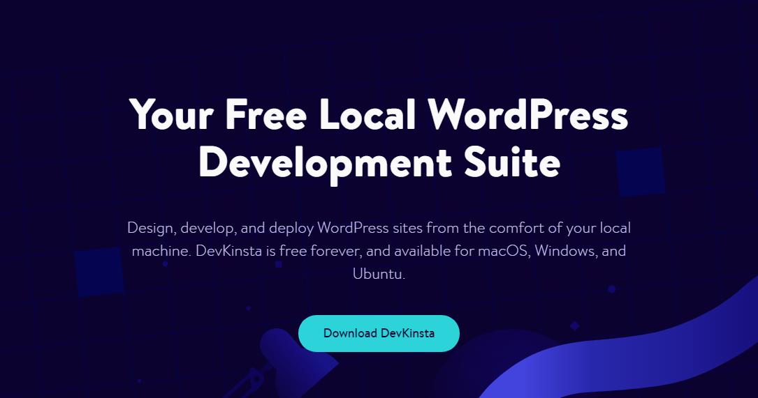 devkinsta suite de desarrollo de wordpress local gratuita