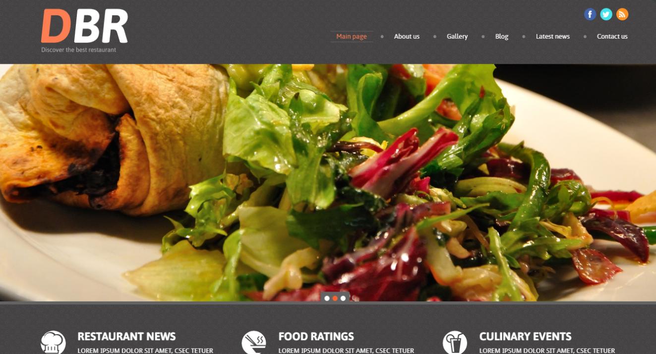 Restaurante europeo: los mejores temas de WordPress de comida premium para restaurantes
