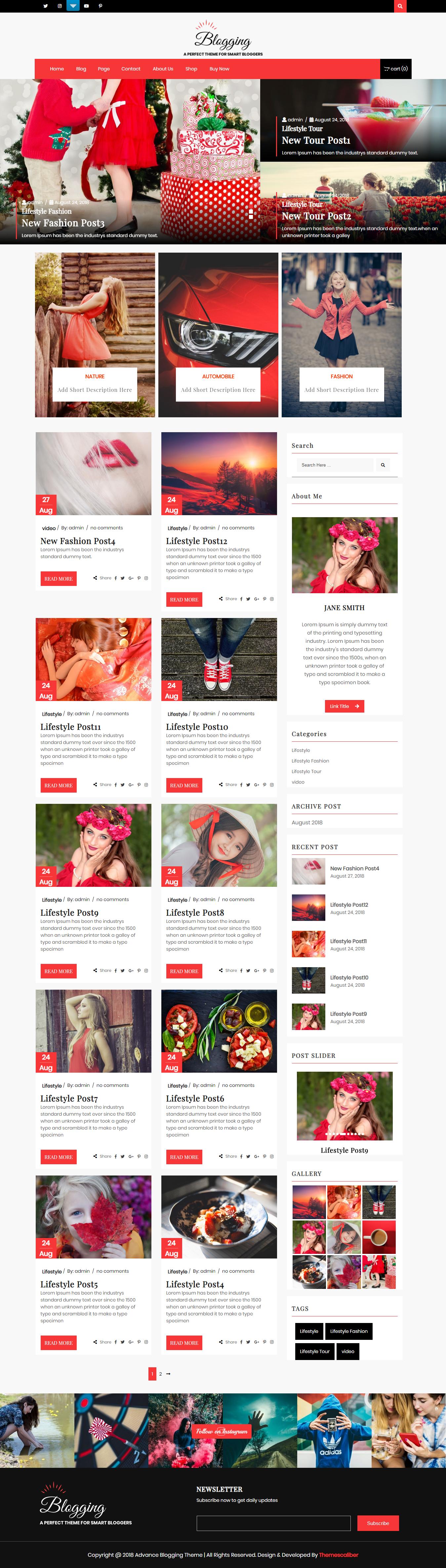 Blogs avanzados: el mejor tema mínimo gratuito de WordPress