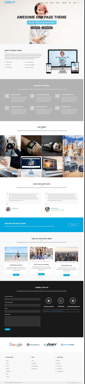 Flexible Lite: el mejor tema de WordPress multipropósito gratuito