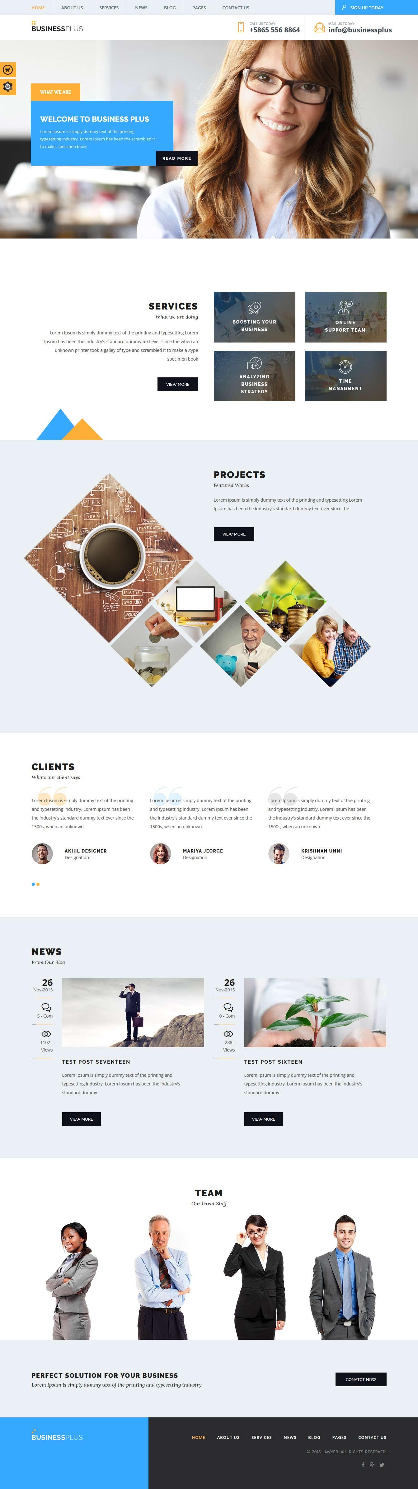 Business Plus: el mejor tema premium multipropósito de WordPress