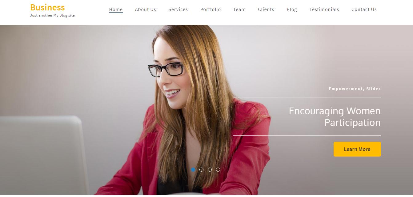 Negocios: los mejores temas y plantillas gratuitos de WordPress de una página