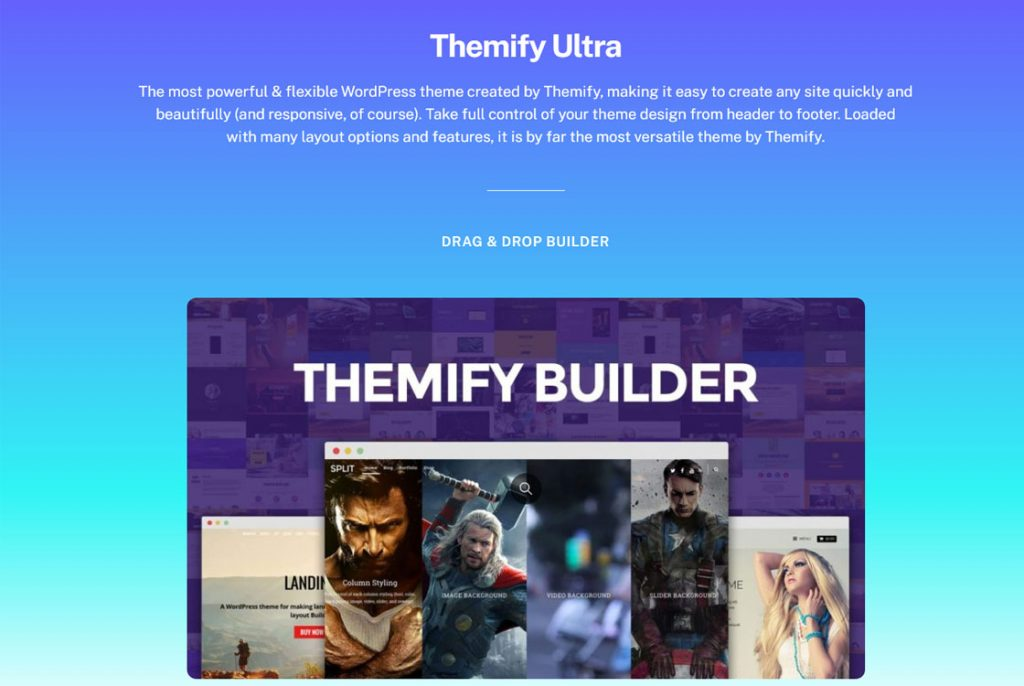 Tema Ultra WordPress