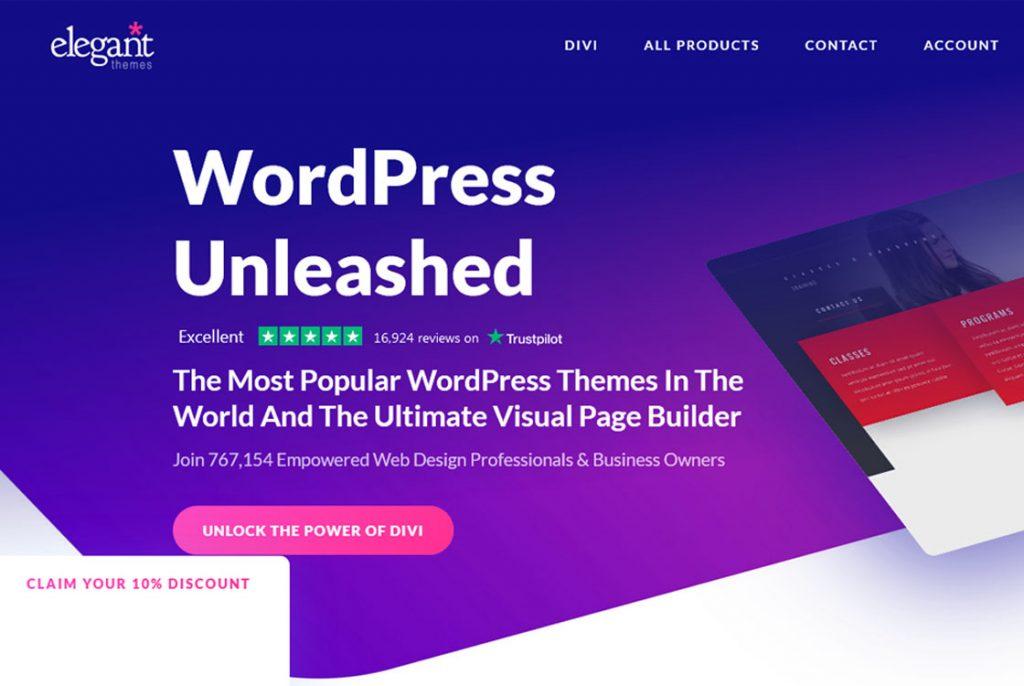 Temas elegantes de WordPress
