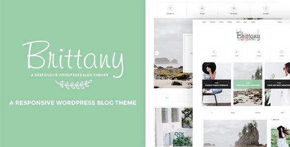 Tema de WordPress de Bretaña