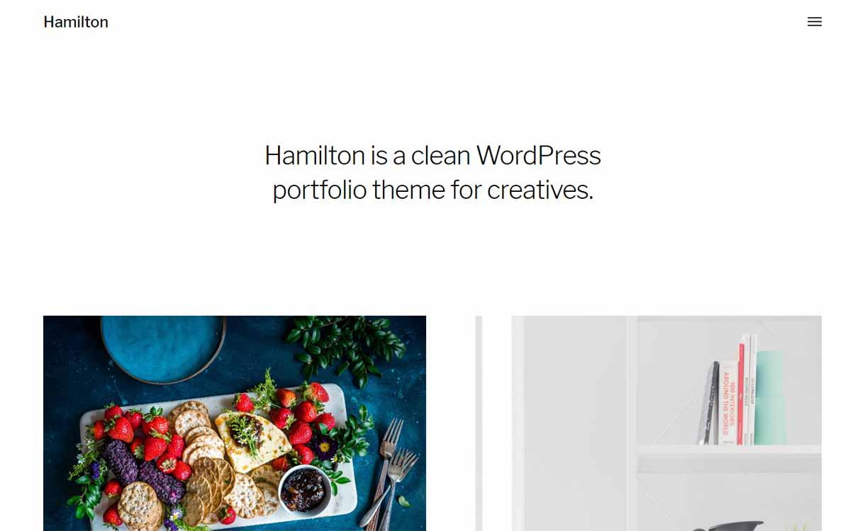 Hamilton-clean-WordPress-portfolio-tema