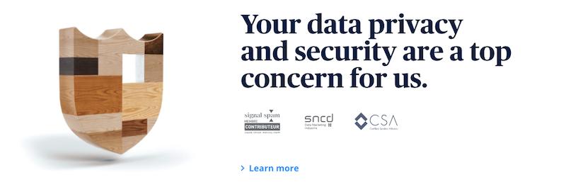 Prueba de correo electrónico y seguridad de Sendinblue