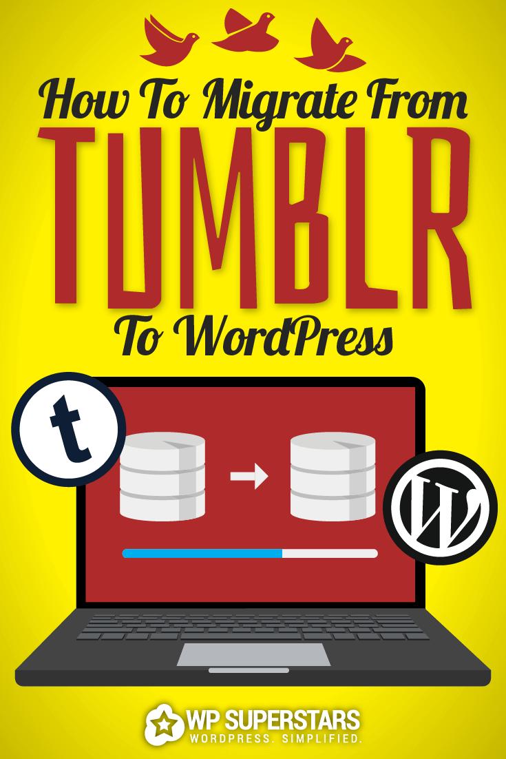 Cómo migrar de Tumblr a WordPress Destacado