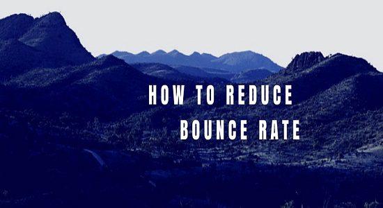 Reducir la tasa de rebote