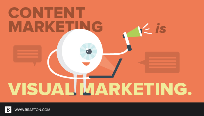 El marketing visual es esencial para las estrategias de contenido modernas.