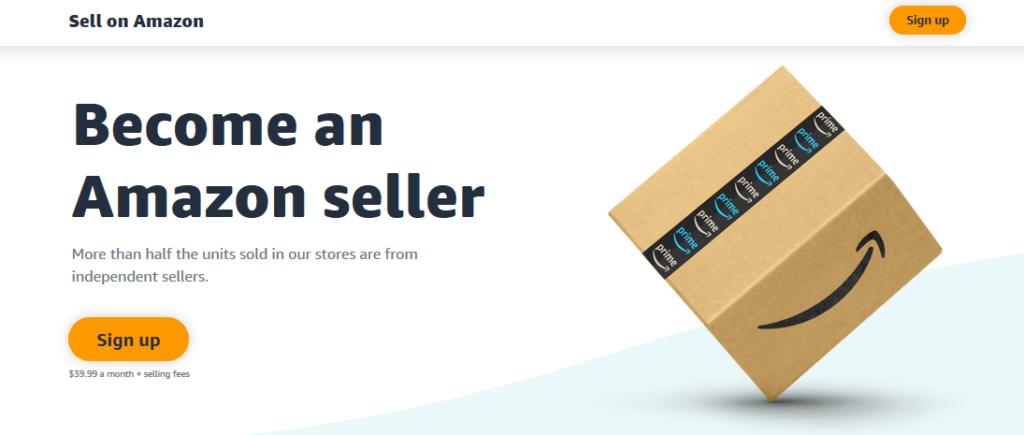Vender en Amazon conviértase en una imagen de vendedor