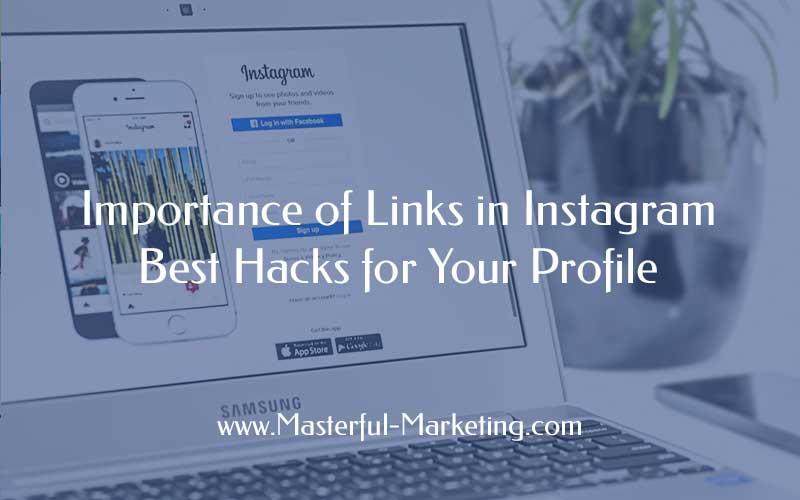 Importancia de los enlaces en Instagram: los mejores trucos para tu perfil