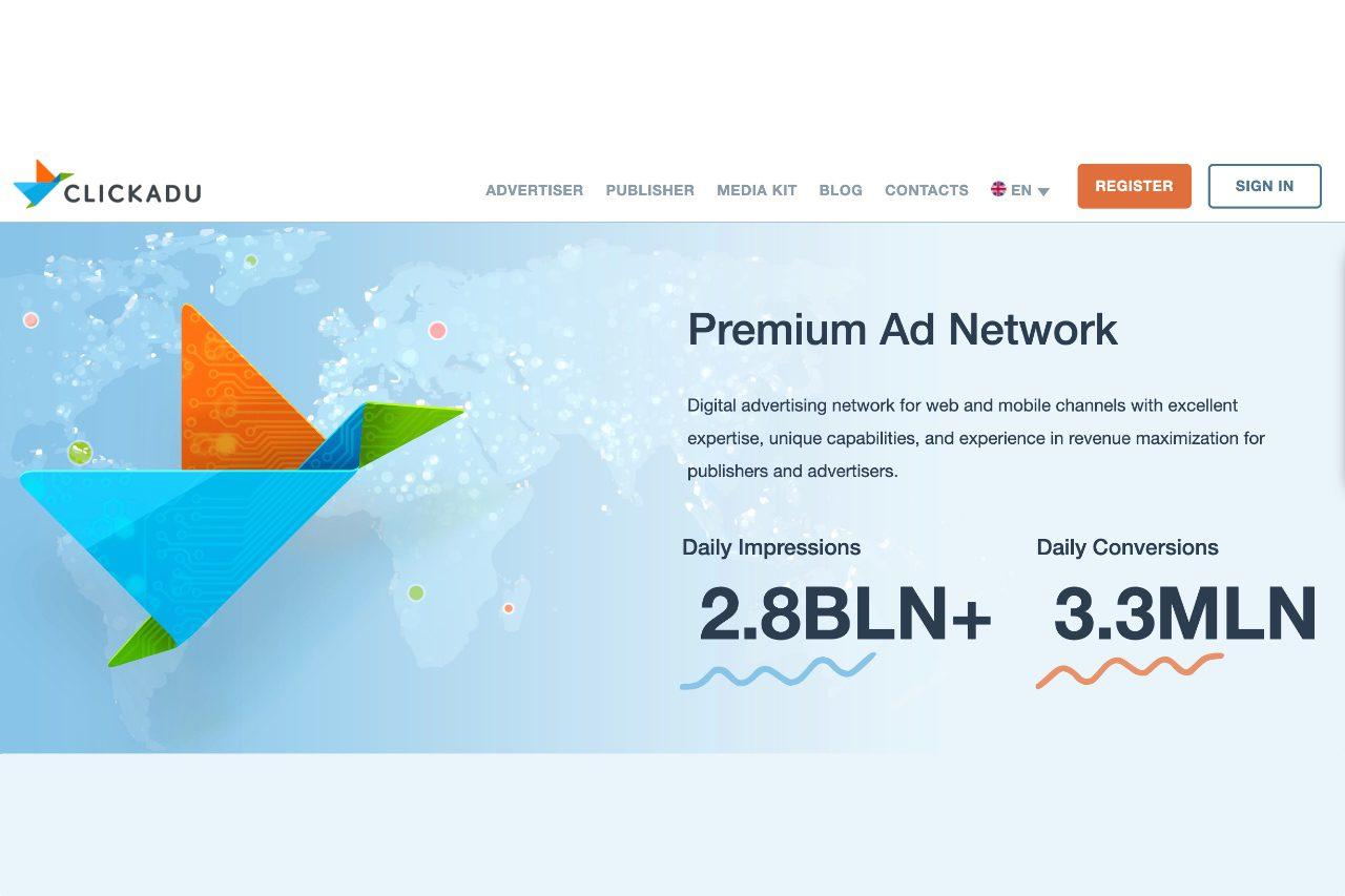 Red publicitaria premium de Clickadu