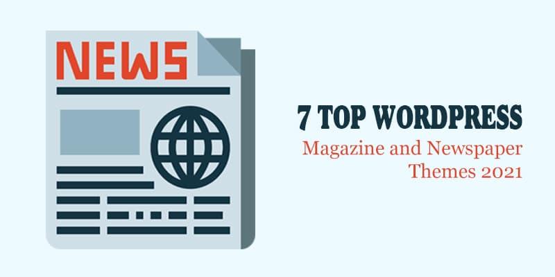 7 temas principales de revistas y periódicos de WordPress