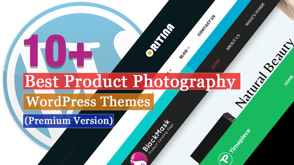 Los mejores temas de WordPress para fotografía de productos premium