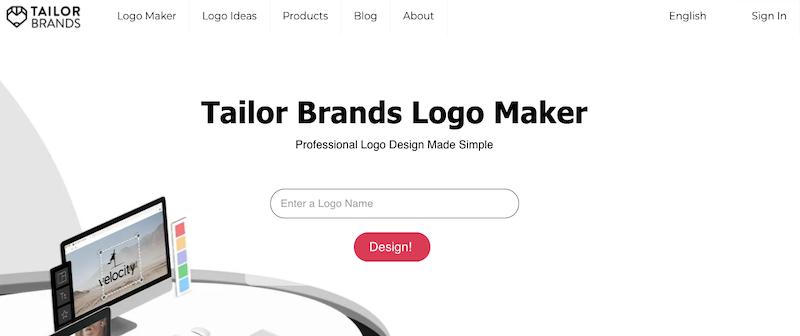 Revisión de Tailor Brands Logo Maker