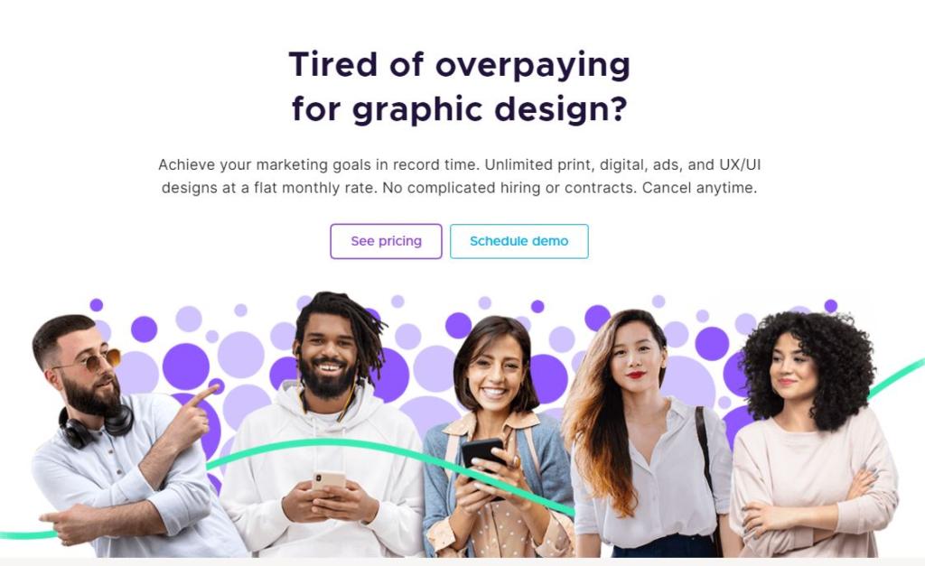 ¿Por qué utilizar Penji Graphic Design?