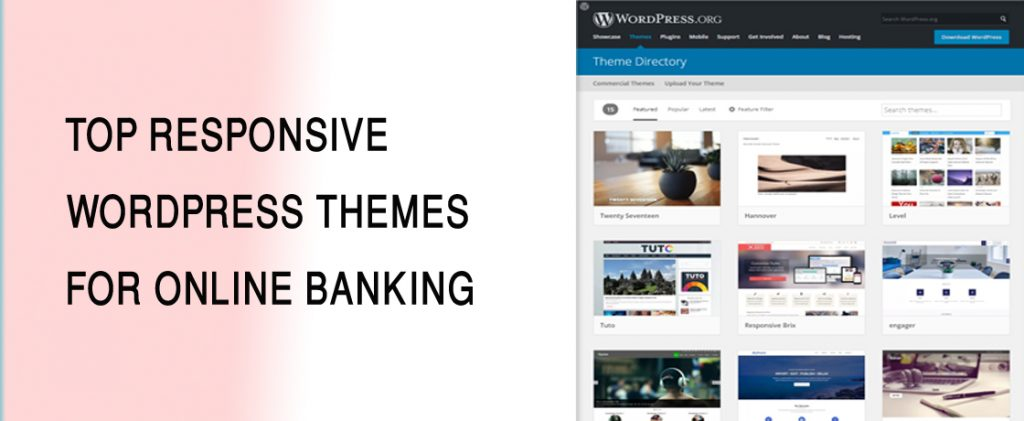 Temas de WordPress con mayor capacidad de respuesta para la banca en línea