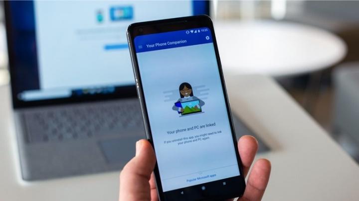 Microsoft su teléfono Android con Windows 10 está en auge