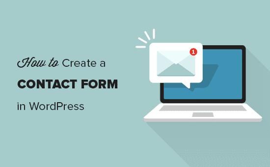 Agregue fácilmente un formulario de contacto en WordPress