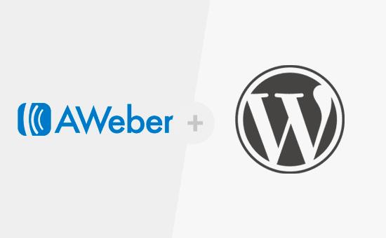 AWeber y WordPress