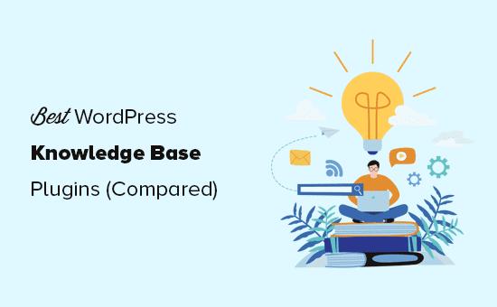 Comparación de los mejores complementos de la base de conocimientos de WordPress