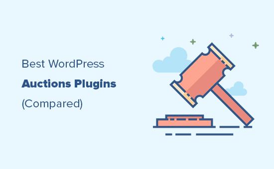Comparación de complementos de subasta para WordPress y WooCommerce